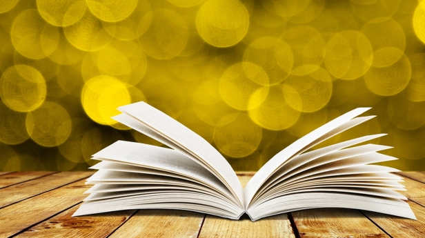 yellow-and-book