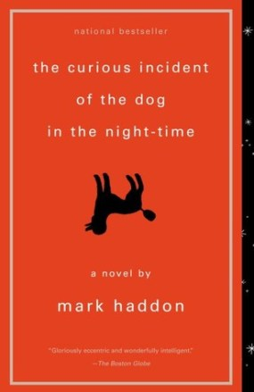 The Curious Incident of the Dog in the Nighttime book cover