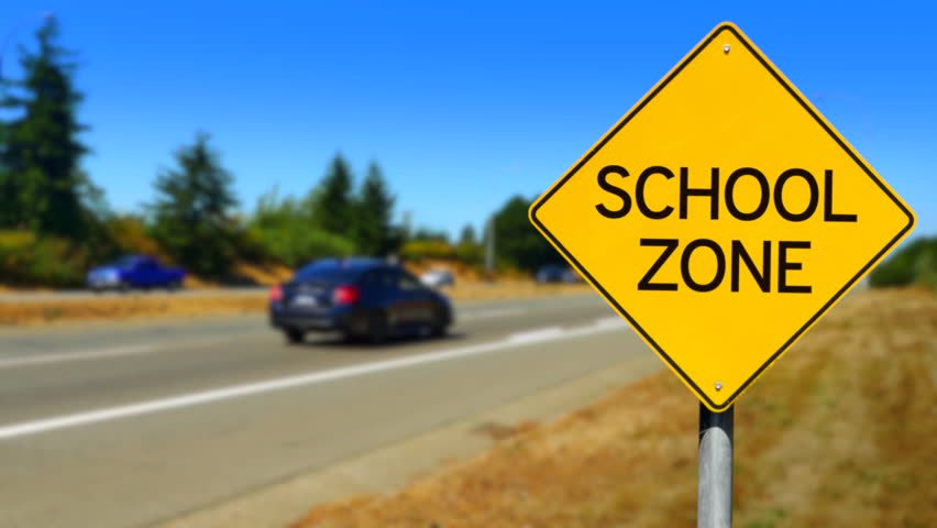 School Zone Pic